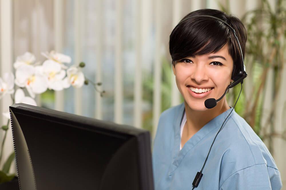 healthcare-call-center-receptionist